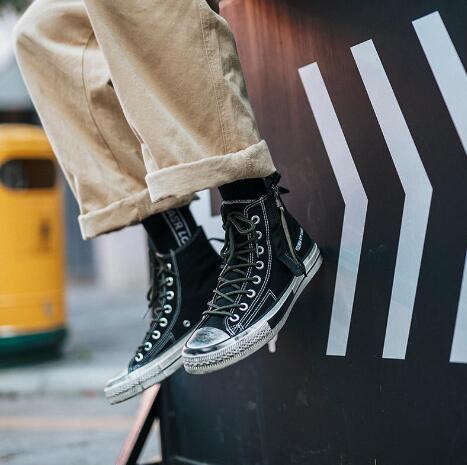 广州本地品牌潮鞋、运动鞋工厂批发一手货源,高清实拍图